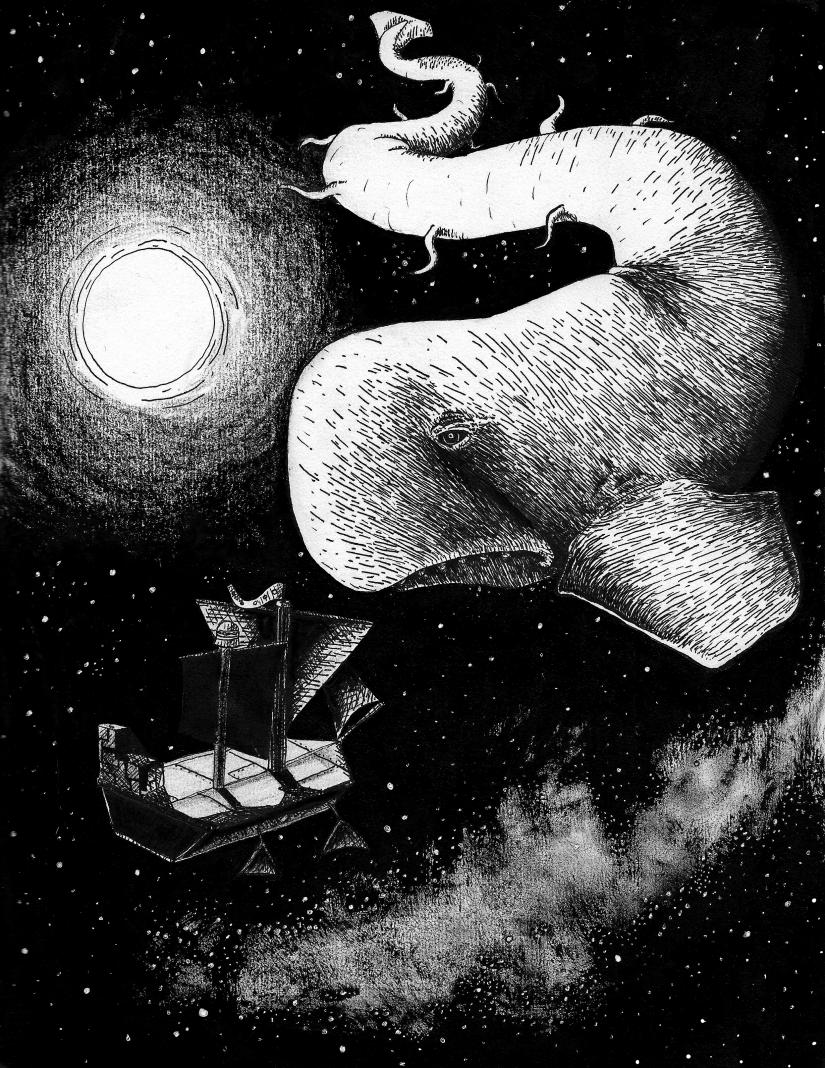 baleine de l'espace